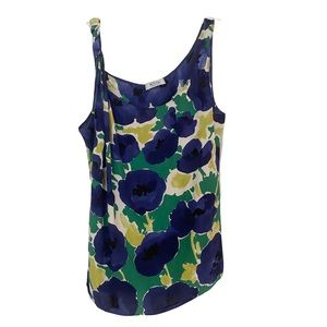 Moschino Cheap And Chic Floral Tank Blouse
